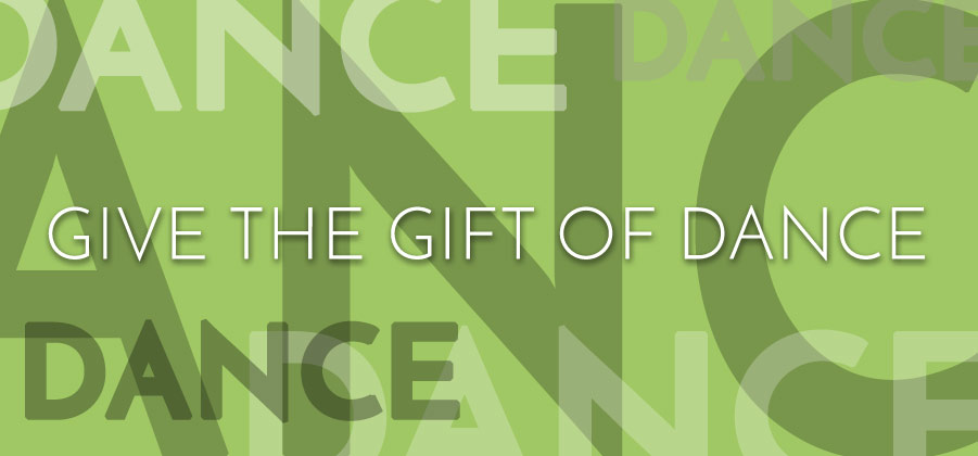Dance Lessons Make Great Gifts - Buy A Gift Certificate Now