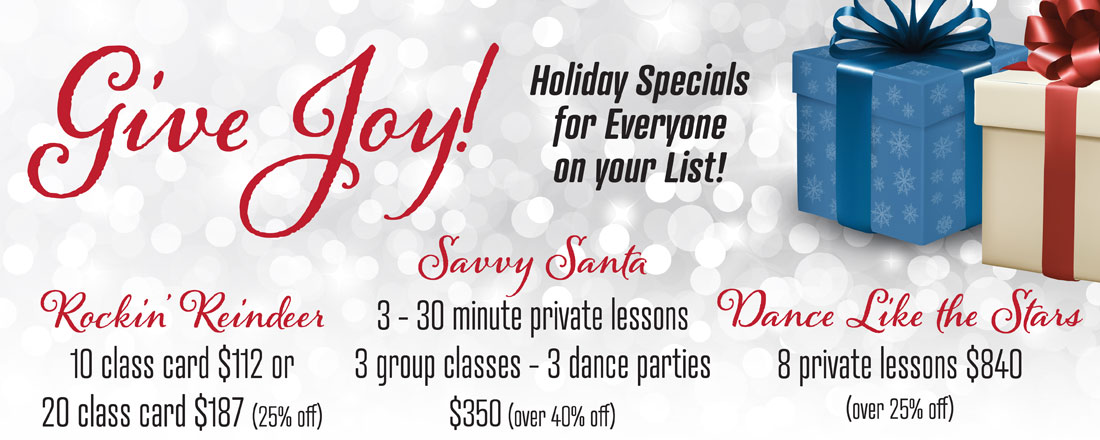 Holiday Specials Gift Certificates
