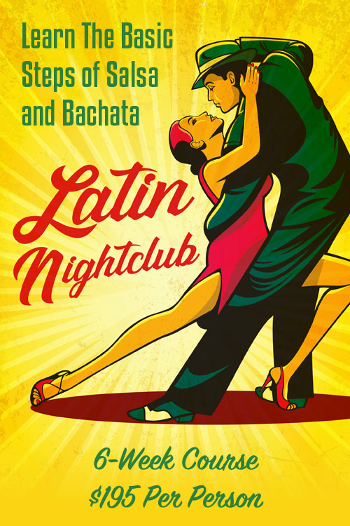 Learn the Dances of Latin nightclubs - Salsa, Bachata and Merengue